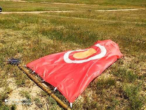 Кытай желеги Кыргыз тоосуна илинди!