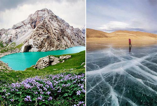 Кыргызстан, сиз көрө элек укмуштуудай сүрөттөр