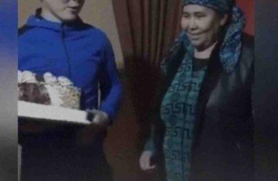 Видео. Апасынын бетине торт менен чапкан бала сынга кабылды