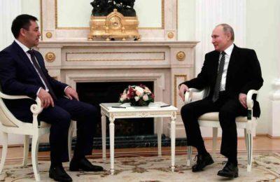 Жапаров менен Путин жолукту. Эмнени талкуулашты