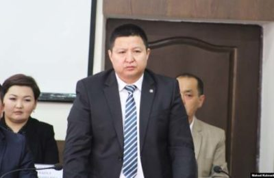 Таласка»Биримдик» партиясынын мүчөсү губернатор болуп  дайындалды