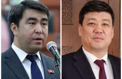 Видео. Эки депутат мушташа кетти. «Ташиевдин алдында намаз окуп жүрөсүңөр»