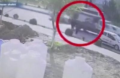 Видео. Таштанды ташыган унаа жарылып кетип 16 жаштагы бала эки бутунан айрылып калды