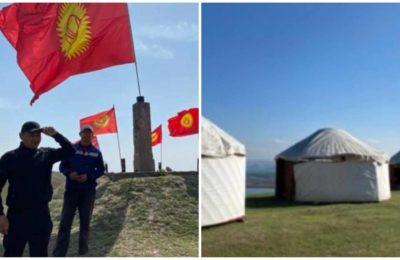 Кемпир-Абад: Тургундар боз үйлөрдү тигип, мөөнөтсүз акция башташты (видео)