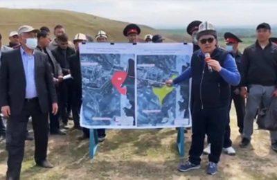 Видео. Ташиев Өзбекстанга 50 эмес 20 гектар жер алмашууну суранат
