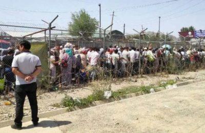 Орусияга кете албаган өзбектер Кыргызстанга иш издеп агылып келүүдө