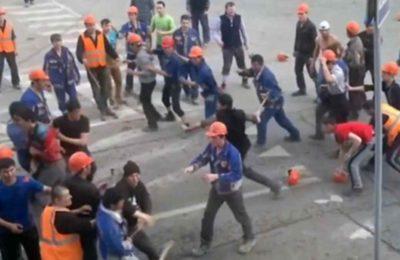 Москвада кыргыздар менен тажиктердин ортосунда массалык мушташ орун алды