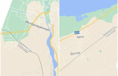 Google картада кыргыз айылдары Тажикстанга карап калган. Аны кантип өзгөртсө болот?