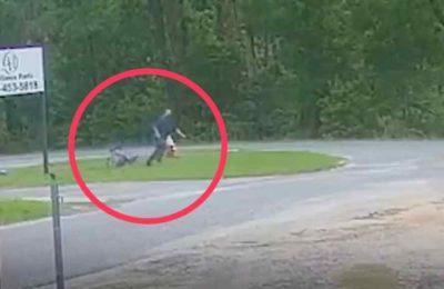 11 жаштагы кыз ала качууга келген адамга каршылык көрсөткөнү видеого түшүп калган