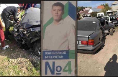 «Эмгек» партиясынын талапкери жол кырсыгынан келип чыккан чыгымды төлөп бербей жатат