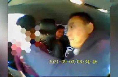 Видео. Москвада прокурор кыргыз таксистти бетке чаап, коркутту