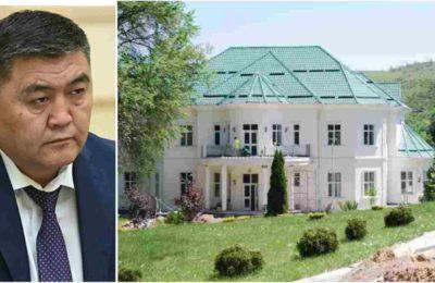 Камчыбек Ташиев Атамбаев курган үйдө жашап жатабы? Жооп